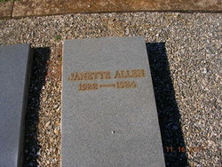 Janette Allen