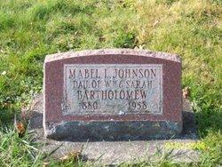 Mabel L. <i>Bartholomew</i> Johnson