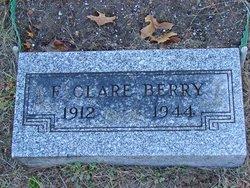 F. Clare Berry