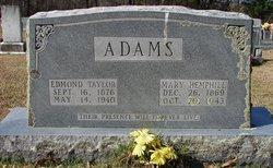 Edmond Taylor Adams