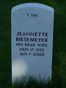 Jeannette <i>Black</i> Biesemeyer