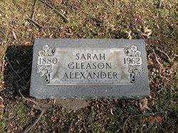 Sarah A <i>Eggers</i> Alexander