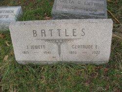 Luella Gertrude <i>Evans</i> Battles