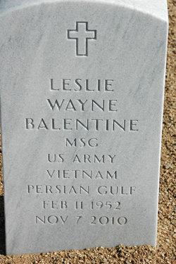 Leslie Wayne Balentine