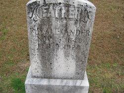 Robert Wesley Alexander