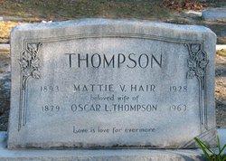 Martha Viola Mattie <i>Hair</i> Thomson