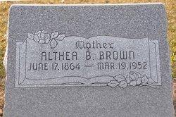 Althea <i>Burgess</i> Brown