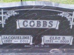 Jacqueline Ola Jackie <i>Cripe</i> Cobbs