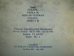 Venla Myrtle <i>Goldsmith</i> Culley