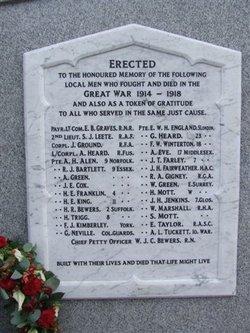 War Memorial-WWI