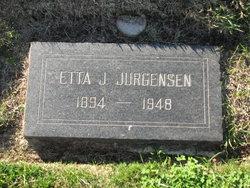 Etta Jane <i>Wilson</i> Jurgensen