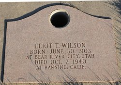 Eliot Theodore Wilson