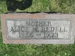 Alice M. Allie <i>McNelly</i> Bedell
