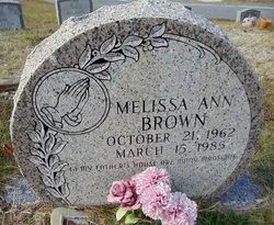 Melissa Ann Brown