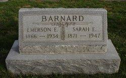Sarah E Barnard