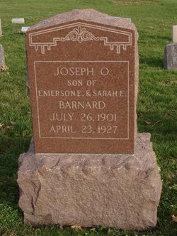 Joseph O Barnard
