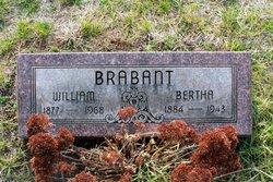 Bertha Katie <i>Lentz</i> Brabant