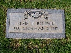 Elsie T Baldwin