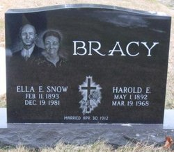 Ella E. <i>Snow</i> Bracy