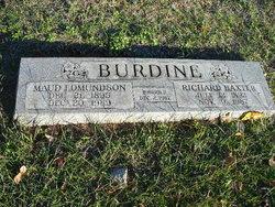Maud <i>Edmundson</i> Burdine