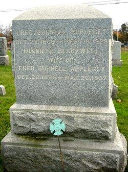 Mary Roberts Minnie <i>Blackwell</i> Appleget