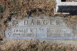 Ernest W Darger