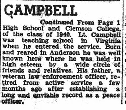 Lieut William Franklin Campbell