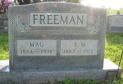 Margaret Frances Mag <i>Moss</i> Freeman