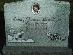Sandy <i>Forbes</i> BlueEyes