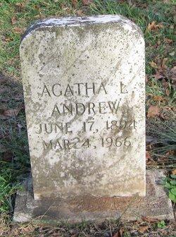 Agatha Lillian <i>Thomas</i> Andrew