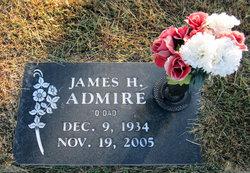 James H Jimmy Admire