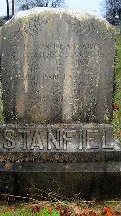Sarah Isabella <i>Coffin</i> Stanfiel