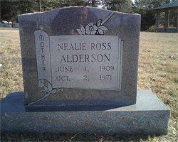 Nealie E. <i>Ross</i> Alderson