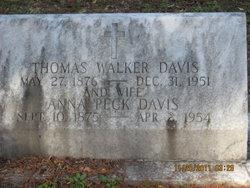 Anna McKoy <i>Peck</i> Davis