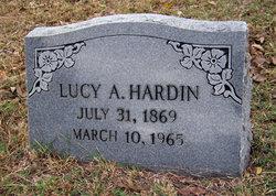 Lucy Artiemis <i>Harris</i> Hardin