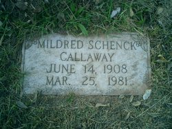 Mildred <i>Schenck</i> Callaway