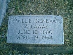 Willie Geneva <i>Spiers</i> Callaway