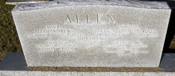 Elizabeth <i>Ganus</i> Allen