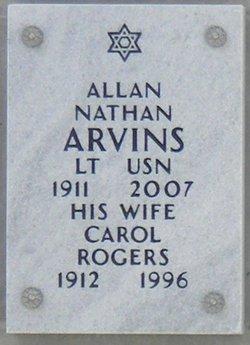 Carol <i>Rodgers</i> Arvins