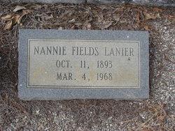 Nannie <i>Fields</i> Lanier