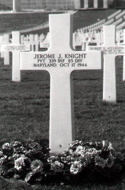 Pvt Jerome J Knight