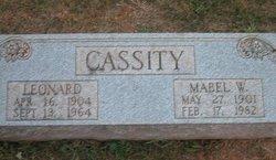 Leonard Cassity