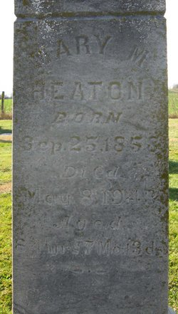 Mary M <i>Ritchie</i> Heaton