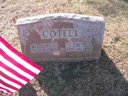 Joseph S Cotell, Sr