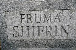 Fruma <i>Gershman</i> Shifrin