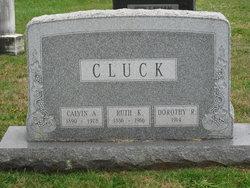 Ruth K <i>Knouse</i> Cluck