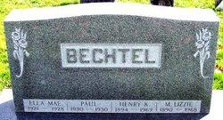 Mrs Lizzie <i>Styer</i> Bechtel