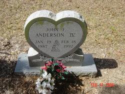 John F Anderson, IV
