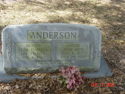Leila Isabella <i>Perry</i> Anderson
