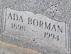 Ada Marie <i>Borman</i> Aderton
